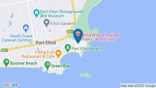 BIG4 Breeze Holiday Parks - Port Elliot Map