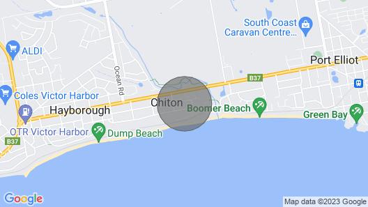 Chiton Beach House - Chiton Rocks Map