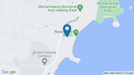 BIG4 Racecourse Beach Tourist Park Map