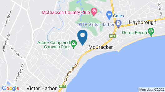 Victor Apartments Map