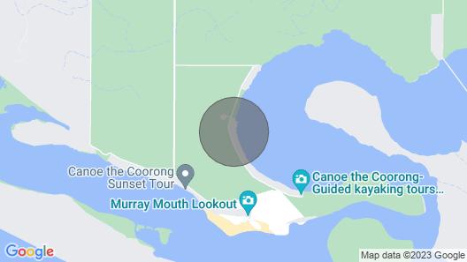 Hideaway Tom's on Mundoo Channel Map