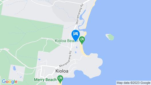 Kioloa Beach Holiday Park Map