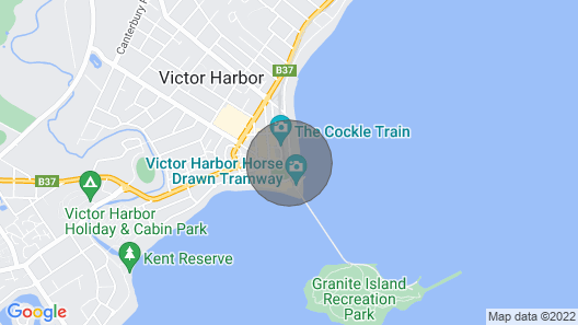 Luxury beachfront apartment at The Breeze - Free Wifi Map