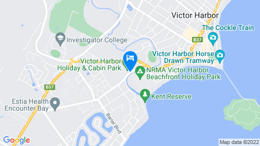 Victor Harbor Holiday & Cabin Park Map