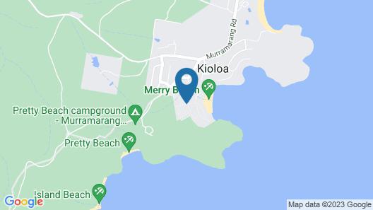 Ingenia Holidays Merry Beach Map