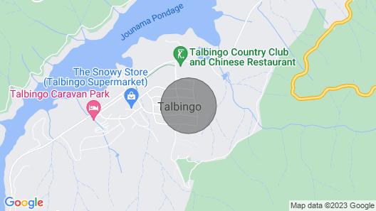 Millers Retreat Talbingo. Spa Cottage Map