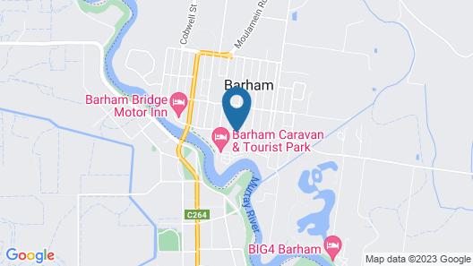 cluBarham Motel Map