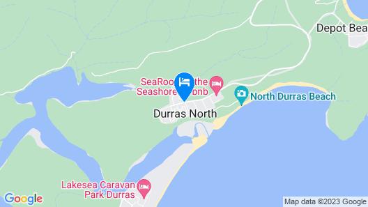 Durras Lake North Holiday Park Map
