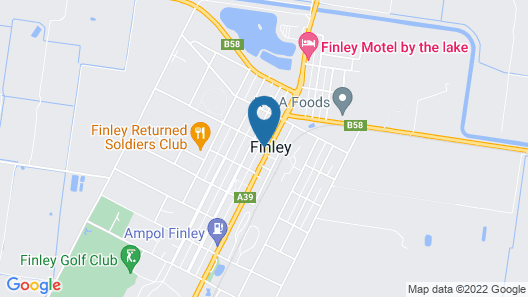 Albion Hotel Motel Map