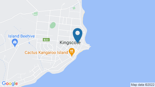 Island Motel Kingscote Map