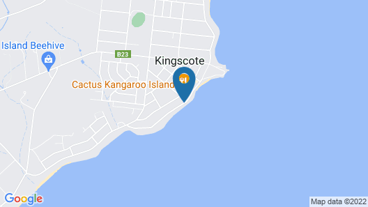 Kangaroo Island Seaview Motel Map