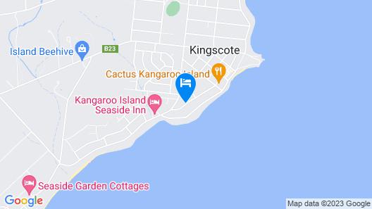 Kangaroo Island Holiday Village Map