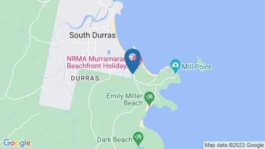 NRMA Murramarang Beachfront Holiday Resort Map
