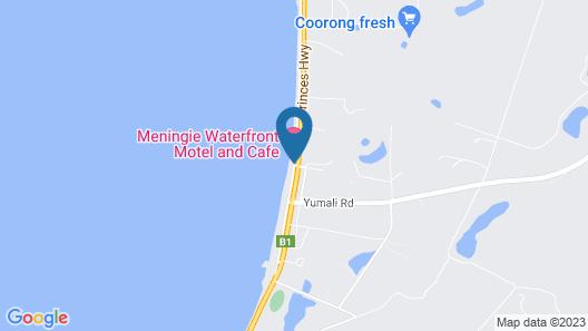 Meningie's Waterfront Motel Map
