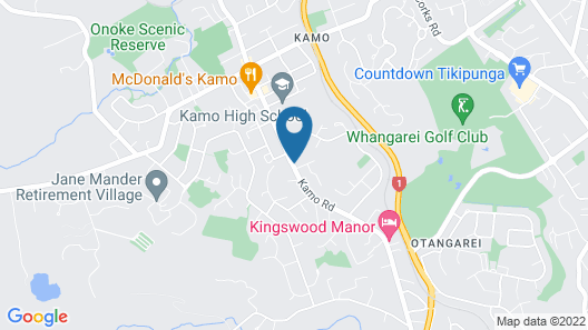 Kamo Motel Map