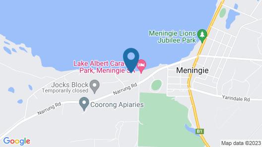 Pelican Perch Retreat Map