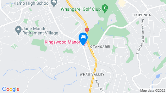 Kingswood Manor Motel Map