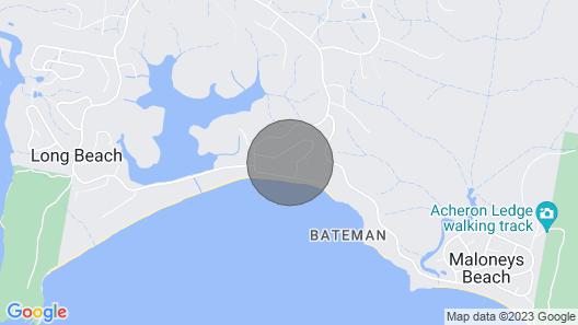 Karana Beach House - Amazing Views Stroll to Beach Map
