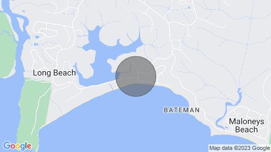 Sandy Place on Long Beach Map