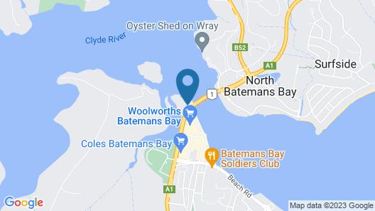Bay Executive Motel Map