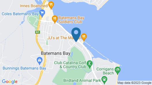 Quays Hotel Map