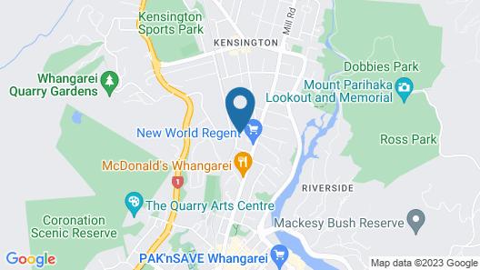 Regent Residential Villa Map