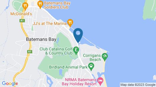 Batemans Bay Marina Resort Map