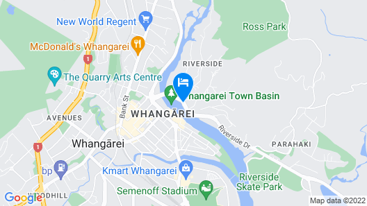 Distinction Whangarei Hotel & Conference Centre Map