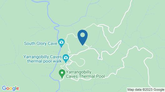 Yarrangobilly Caves House Map