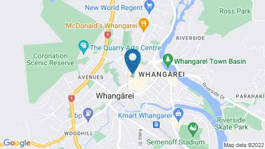 Quest Whangarei Map