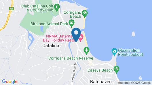BIG4 Batemans Bay Beach Resort Map