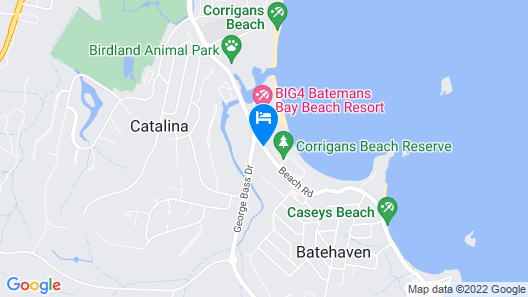 Corrigans Cove Map