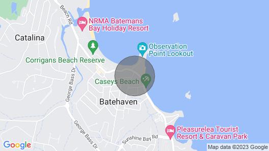 Your Comfy Coastal Escape! Map
