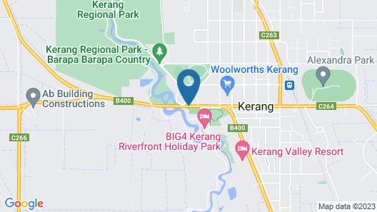 Loddon River Motel Map