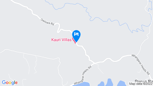 Kauri Villas Map