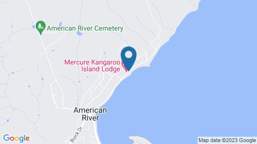 Mercure Kangaroo Island Lodge Map