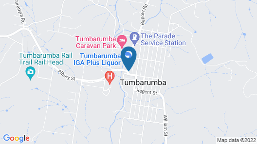 Tumbarumba Union Hotel Map