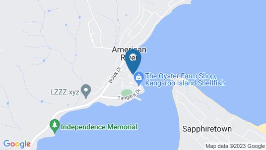 Kangaroo Island Coastal Villas Map