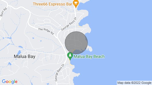 Spectacular Ocean View Over Malua Bay Map
