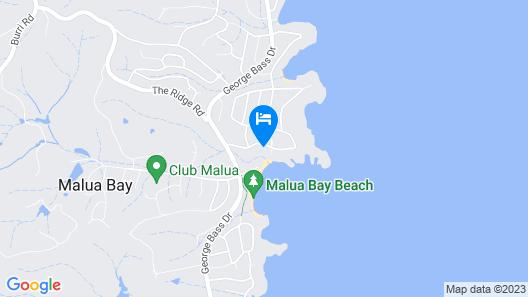 Absolute Beachfront Malua Bay Map