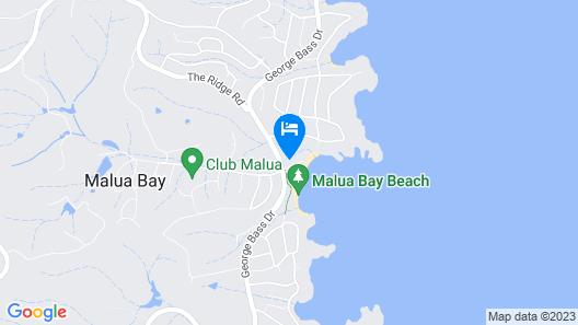Abode Hotel Malua Bay Map