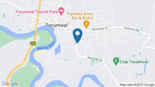 Kingswood Motel Map