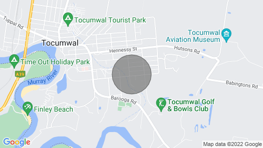 Charlottes Honor - Tocumwal River & Golf Cottage Map