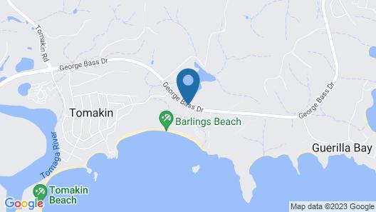 Barlings Beach Holiday Park Map