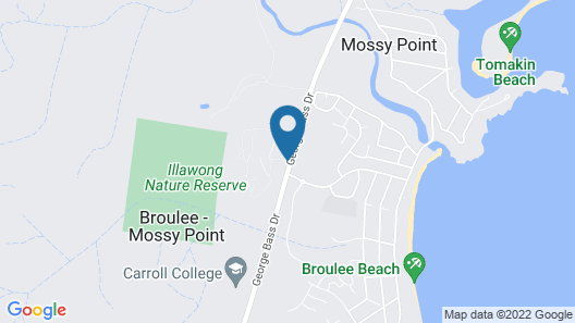 The Bower at Broulee Map