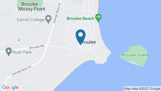 THE LODGE BROULEE Map