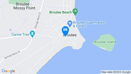 Ingenia Holidays Broulee Map