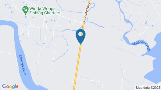 Moruya Motel Map