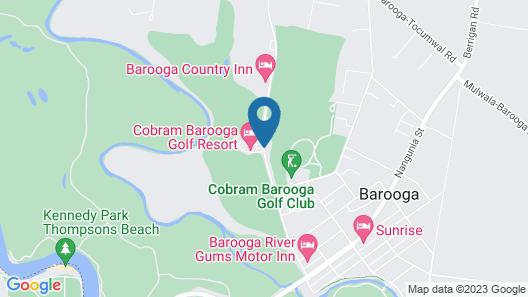 Cobram Barooga Golf Resort Map