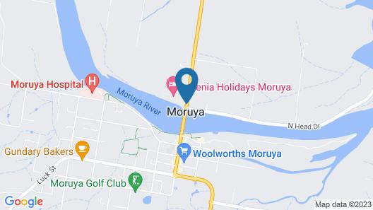 Moruya Waterfront Hotel Motel Map